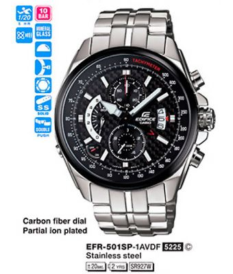 Купить Casio EFR-501SP-1AVEF_1